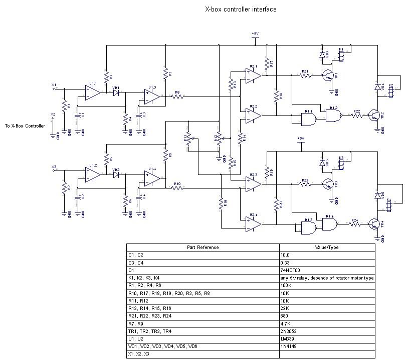 02. Принципиальная схема контроллера.