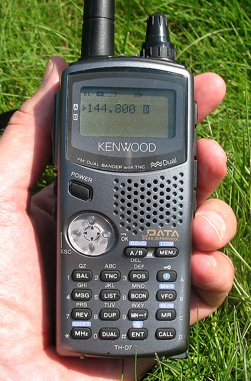 KENWOOD TH-D7